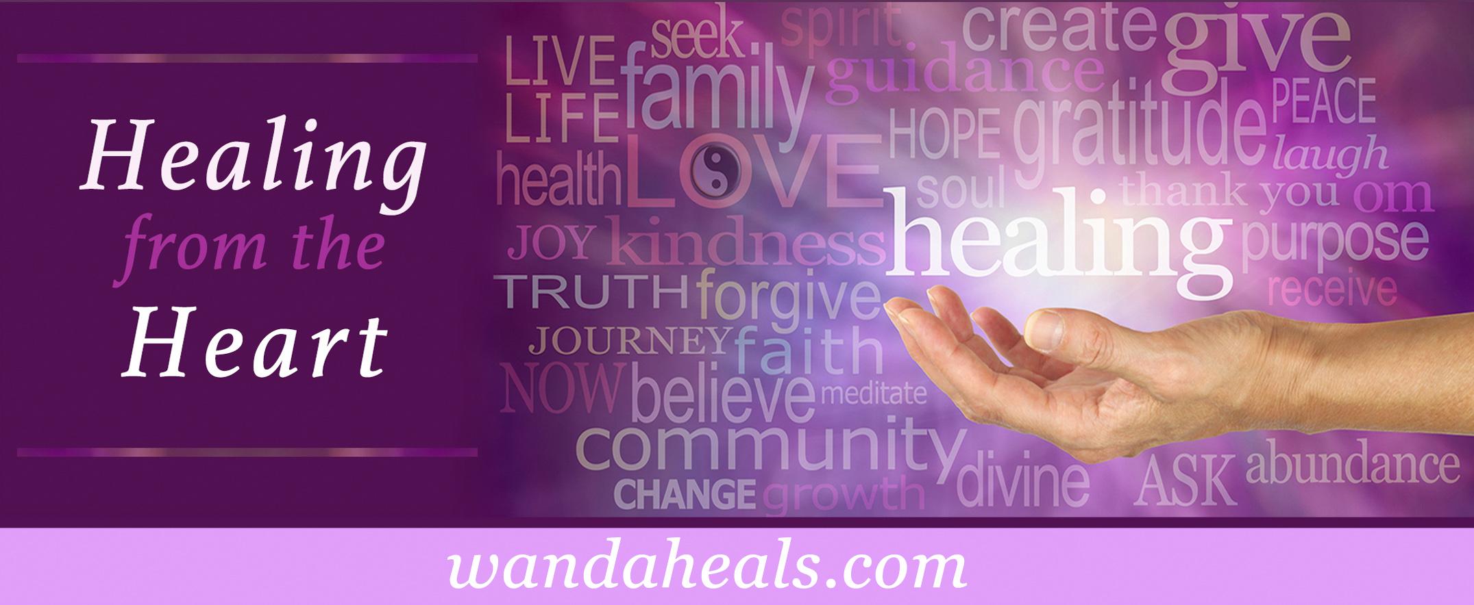 Wanda Heals Logo